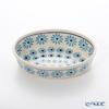 Polish Pottery Boleslawiec '966-GU1894A' Oval Dish 16x10.5cm