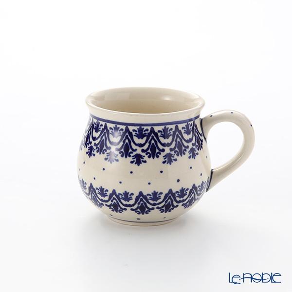 ポーリッシュポタリー(ポーランド陶器) ボレスワヴィエツ マグ 220ml/8cm 1452/1169