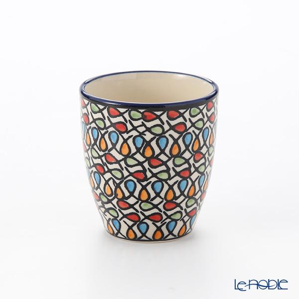 Polish Pottery Boleslawiec 'DU221-GU936' Cup (no handle) 180ml