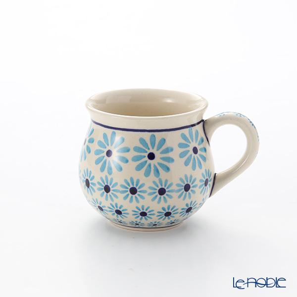 ポーリッシュポタリー(ポーランド陶器) ボレスワヴィエツ マグ 220ml/8cm 1452/966