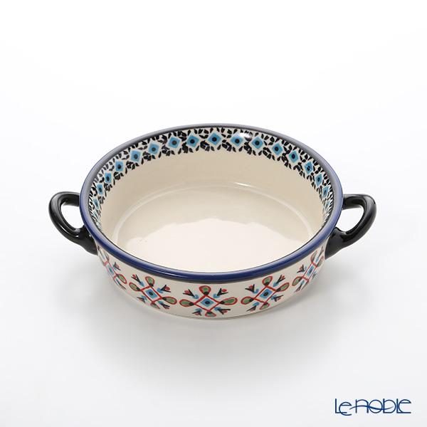 Polish Pottery Boleslawiec '1220-GU1454' Gratin Dish 14cm