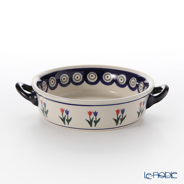 Polish Pottery Boleslawiec Gratin Dish 14cm 1454/809