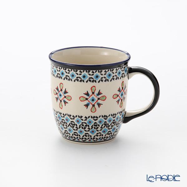 ポーリッシュポタリー(ポーランド陶器) ボレスワヴィエツ マグ 350ml/9.7cm 1105/1220A