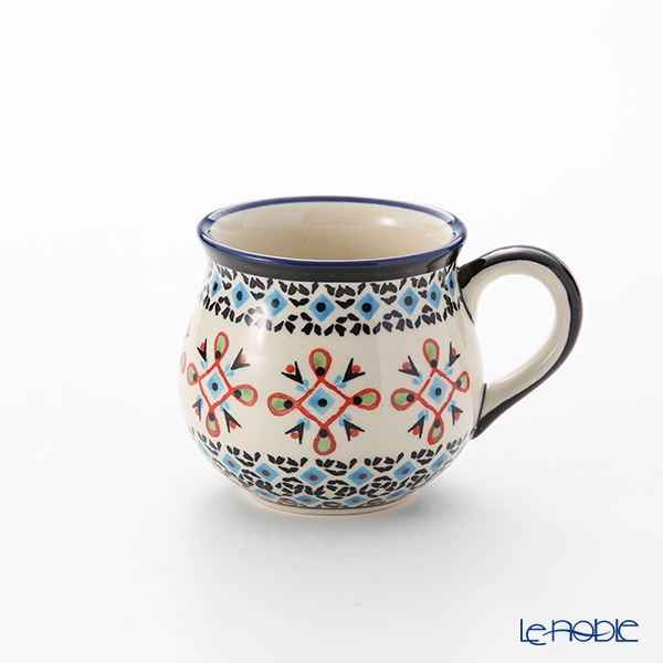 ポーリッシュポタリー(ポーランド陶器) ボレスワヴィエツ マグ 220ml/8cm 1452/1220A