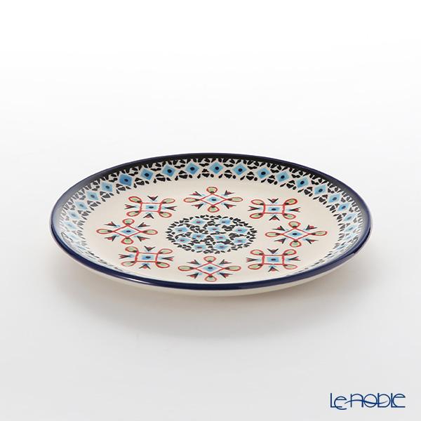 Polish Pottery Boleslawiec '1220A-GU818' Plate 16cm