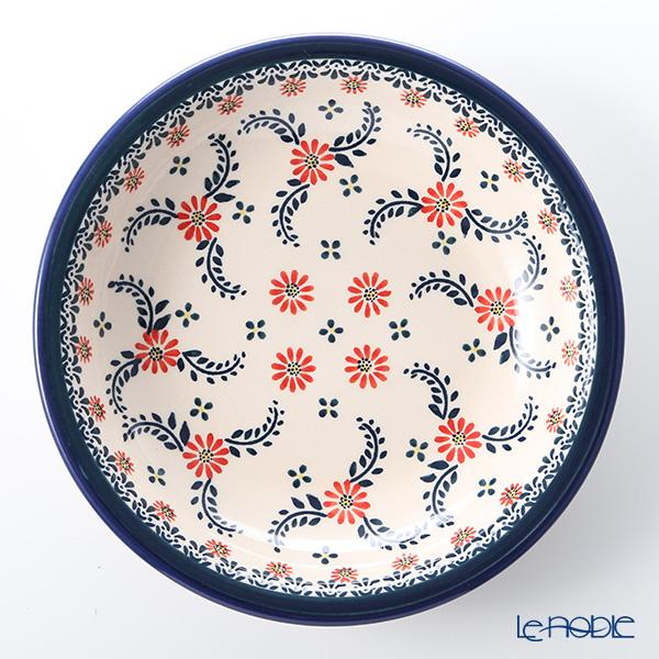 Polish Pottery Boleslawiec Soup Plate 23cm 1002/1072A