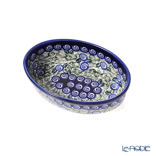 ポーリッシュポタリー(ポーランド陶器) ボレスワヴィエツ ディッシュ 16.4cm/H4.5cm 1894A/A-1073A