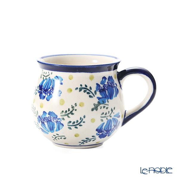 ポーリッシュポタリー(ポーランド陶器) ボレスワヴィエツ マグカップ 220ml/8cm 1452/DU-228