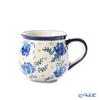 ポーリッシュポタリー(ポーランド陶器) ボレスワヴィエツマグカップ 220ml/8cm 1452/DU-228