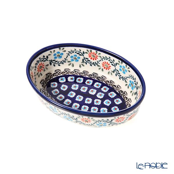 ポーリッシュポタリー(ポーランド陶器) ボレスワヴィエツ ディッシュ 16.4cm/H4.5cm 1894A/A-1145A