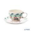 Polish Pottery Boleslawiec '775/836/D-1170' Tea Cup & Saucer 220ml