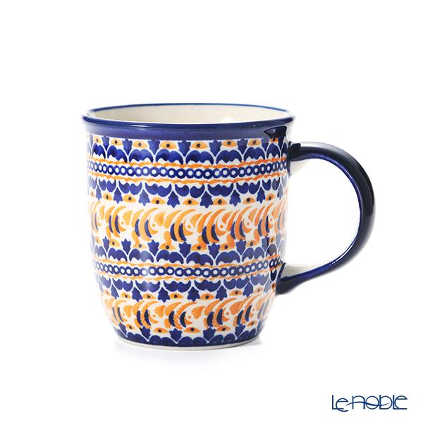 ポーリッシュポタリー(ポーランド陶器) ボレスワヴィエツ マグカップ 350ml/9.7cm 1105/DU-225