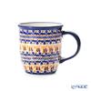 ポーリッシュポタリー(ポーランド陶器) ボレスワヴィエツマグカップ 350ml/9.7cm 1105/DU-225