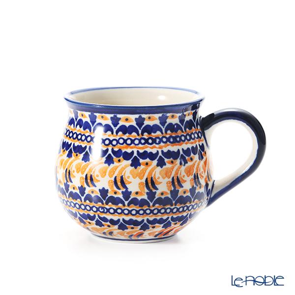 ポーリッシュポタリー(ポーランド陶器) ボレスワヴィエツ マグカップ 220ml/8cm 1452/DU-225