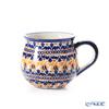 ポーリッシュポタリー(ポーランド陶器) ボレスワヴィエツマグカップ 220ml/8cm 1452/DU-225