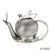 Silver Tre Teapot, snail, silver