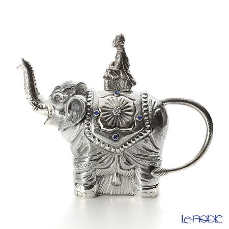 Silver Tre Teapot, snail, elephant