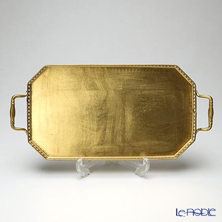 フィレンツェ トレイ オクタゴナル 21×35cm ギャラリー ゴールド
