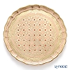 Florence tray round 33.5 cm pink / gold LP2163.
