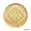 Florentine tray round 33.5 Cm light green