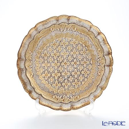 フィレンツェ トレイ LP216-1 ラウンドベージュ 29cm