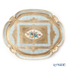 Florentine Wooden Crafts LP207/5T Light Blue & Gold with Flower pattern Oval Tray (Cloud shape) 51x41.5cm