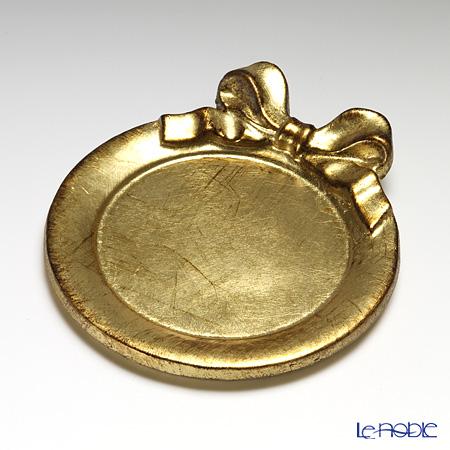 フィレンツェ コースター ラウンドリボン ゴールド 1020