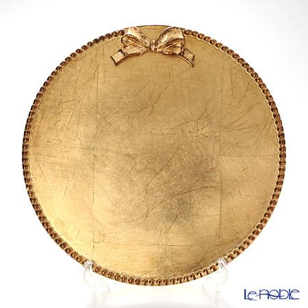 フィレンツェ ラウンドボード リボン 3100 ゴールドリボン 33cm