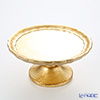 Florentine tray cake stand 24 cm gold (S).