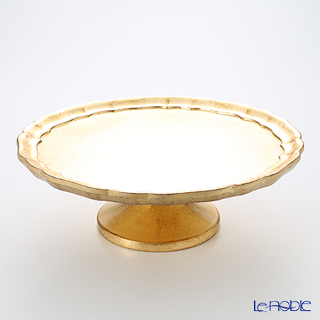 Firenze Tray, Cake Stand Large 33.5 cm, gold