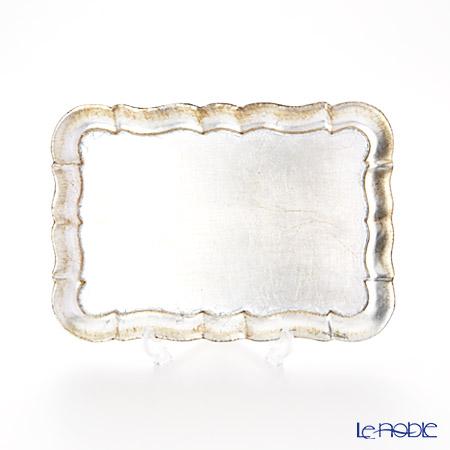 フィレンツェトレイ 長方形 3046/0シルバー 16×22.5cm