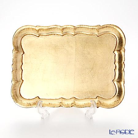 フィレンツェトレイ 長方形 3046/2 ゴールド 29×21.5cm