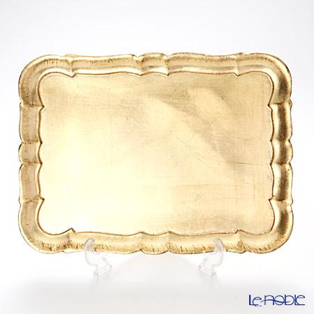 フィレンツェトレイ 長方形 3046/3 ゴールド 36×26.5cm