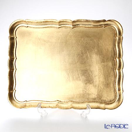 フィレンツェトレイ 長方形 3046/4 ゴールド 41.5×32cm