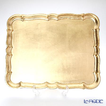 フィレンツェトレイ 長方形 3046/5ゴールド 46.5×37.5cm