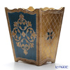 Florentine Wooden Crafts '3094/2' Blue & Gold Dust Box H29cm