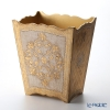 Florentine Wooden Crafts '3094/2' White & Gold Dust Box H29cm