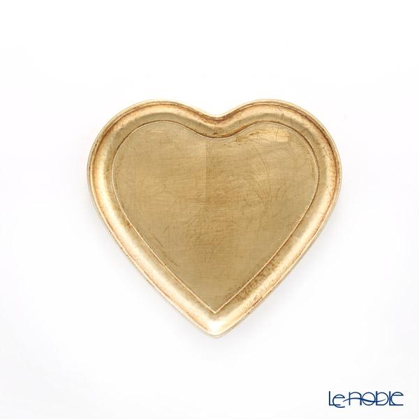 フィレンツェ トレイ ハート ゴールド 20×22cm 9901