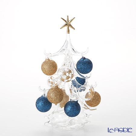 パリーゼ クリスマスツリー M 22cm NN/4/1(249) ブルーゴールド