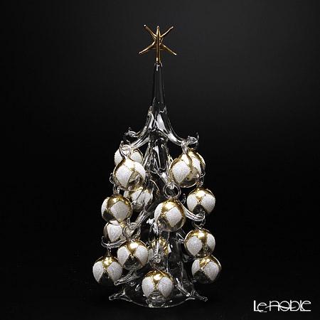 Soffieria Parise 'White & Gold' NN/2/1 (82) Christmas Tree Object H32cm (L)