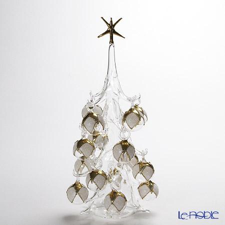 パリーゼ クリスマスツリー L 32cm NN/2/1(82) ホワイト&ゴールド