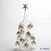 Soffieria Parise Crystal Christmas Tree, White & Gold, H32.0 NN/2/1 (82)