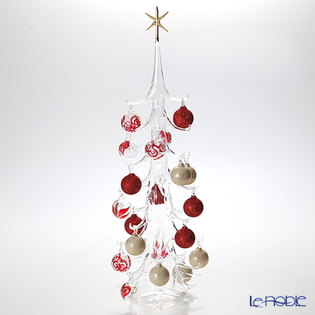 パリーゼ クリスマスツリー XL 68cm N/0(154) レッド&ホワイト