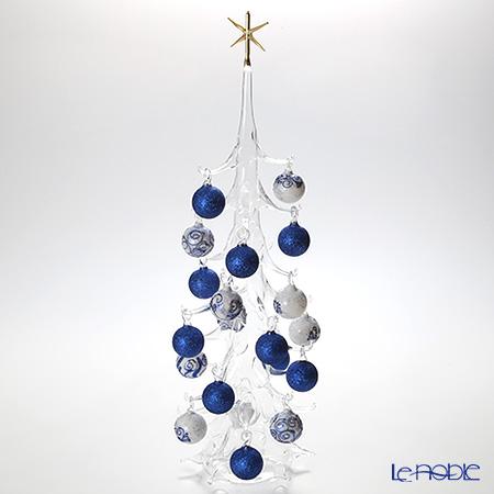 パリーゼ クリスマスツリー XL 68cmN/0(151) ブルー&ホワイト