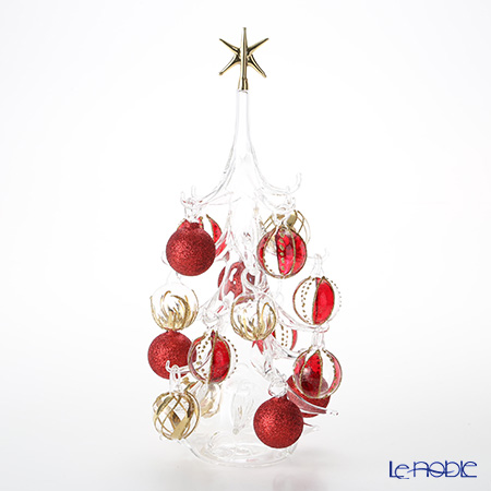 Soffieria Parise 'Red & Gold' NN/2/1 (242) Christmas Tree Object H31cm (L)