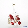 Parise Christmas tree M height 22 cm Red Gold NN/4/1 (242)