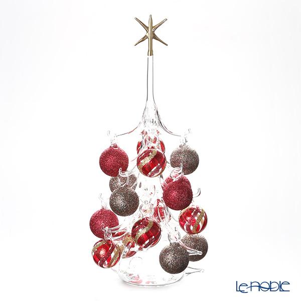 パリーゼ クリスマスツリー L H32cm NN/2/1(280) レッド&メタル1