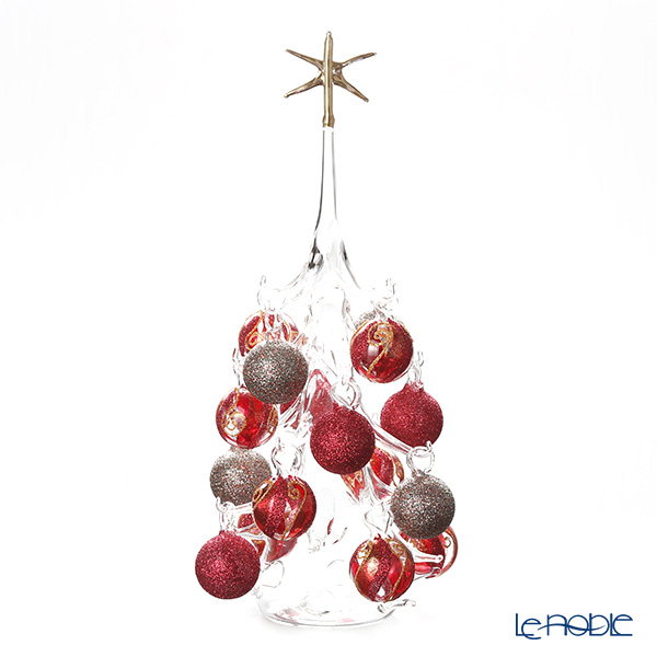 パリーゼ クリスマスツリー L H32cm NN/2/1(281) レッド&メタル2