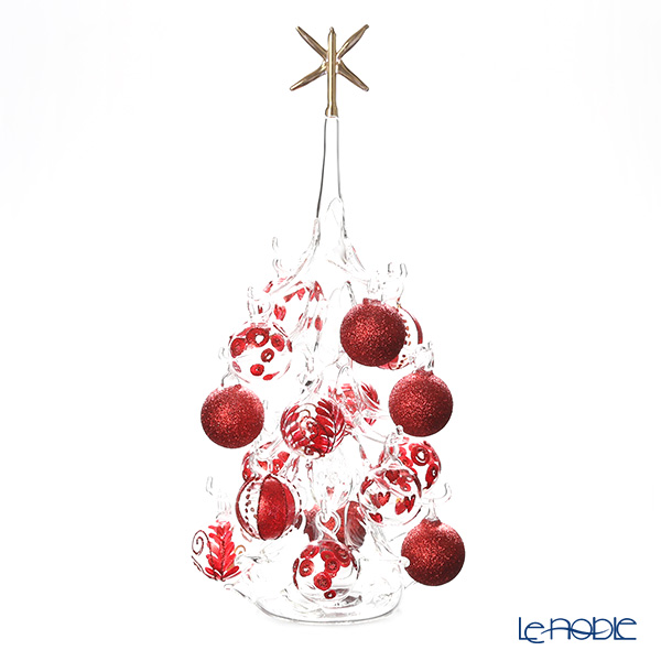 パリーゼ クリスマスツリー L H32cm NN/2/1(282) レッド&クリア