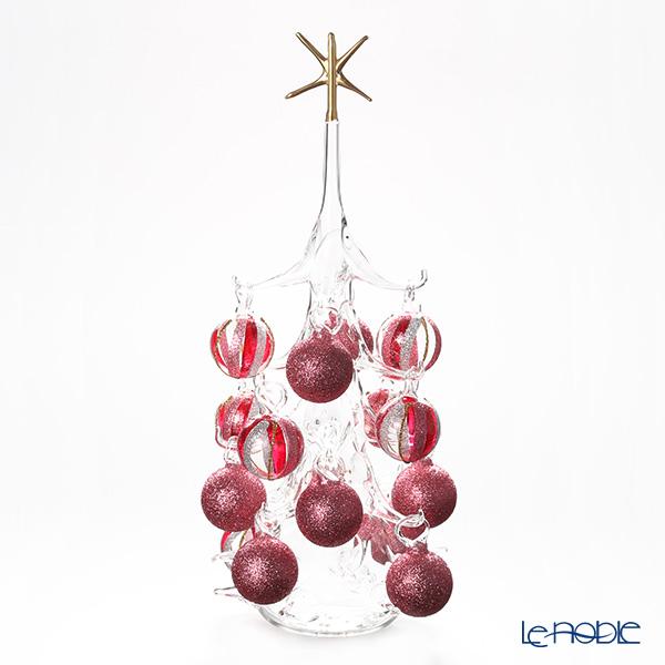 パリーゼ クリスマスツリー L H32cm NN/2/1(285) レッド系&シルバー